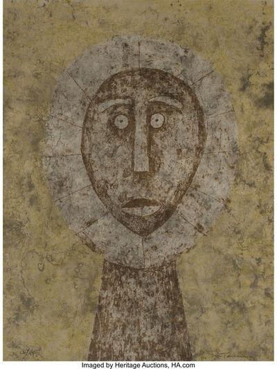 Rufino Tamayo, 'Cabeza en Gris', 1979