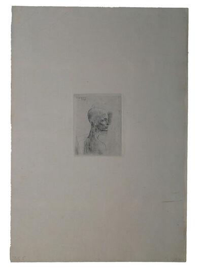 Pablo Picasso, 'Buste d'homme', 1905