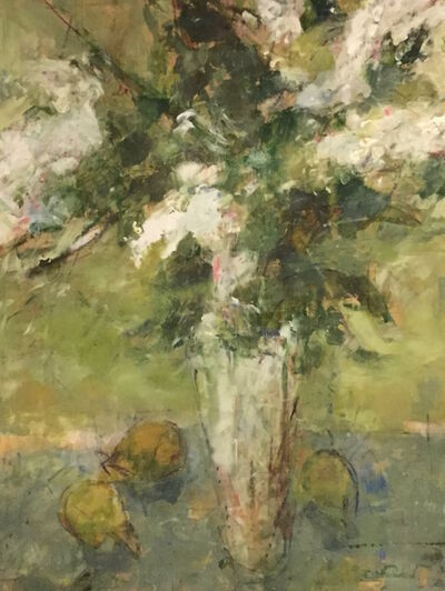 Cynthia Packard, 'White Lilacs', 2015