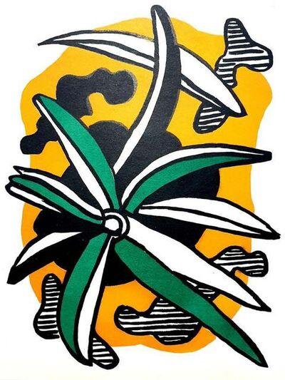 Fernand Léger, 'Fernand Léger - Flowers - Original Lithograph', 1951