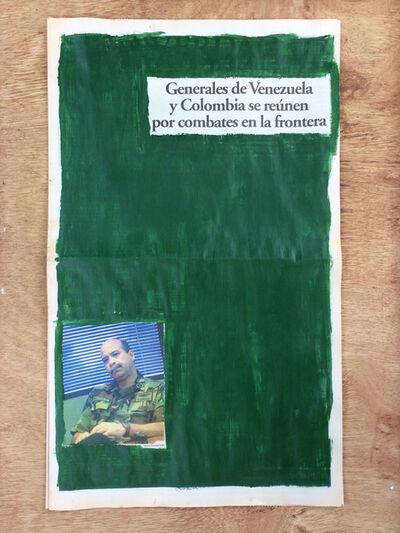 Marco Montiel-Soto, 'La verdad no es noticia. Generales de Venezuela y Colombia se reúnen por combates en la frontera', 2016