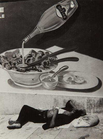 Brassaï, 'Clochard endormi à Marseille', 1935