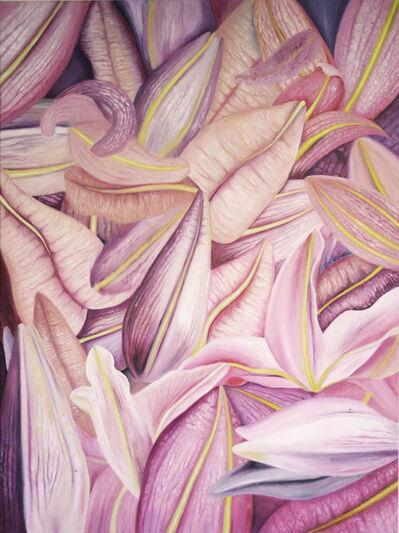 Carine Bovey, 'Rosa lilium sorbonne labia oris', 2020