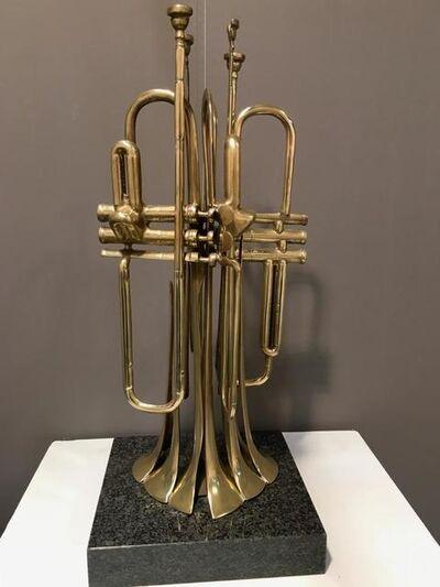 Arman, 'Untitled (trumpets)', 1989
