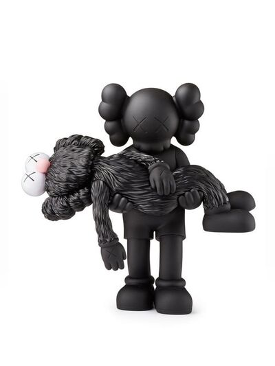 KAWS, 'Gone (Black)', 2019