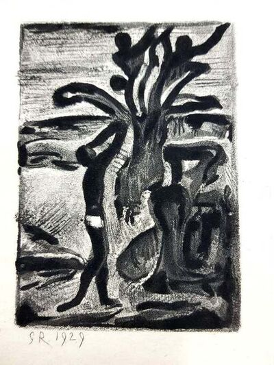 Georges Rouault, 'Georges Rouault - Original Engraving - Ubu the King', 1929