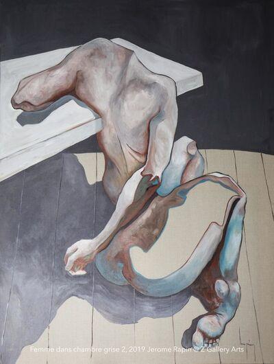 Jerome Rapin, 'Femme Dans Chambre Grise 2', 2019
