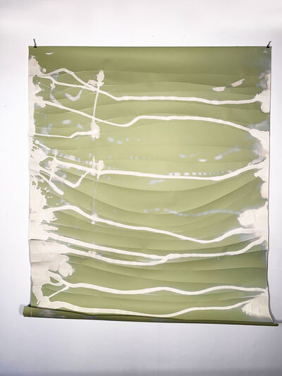 Missy Engelhardt, 'Green Bleach Drips with Cuts', 2020
