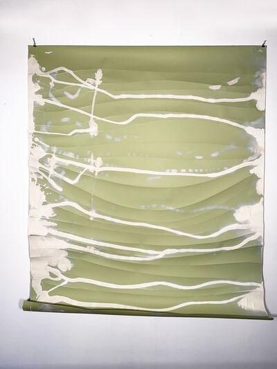 Missy Engelhardt, 'Green Bleach Drips with Cuts', 2020