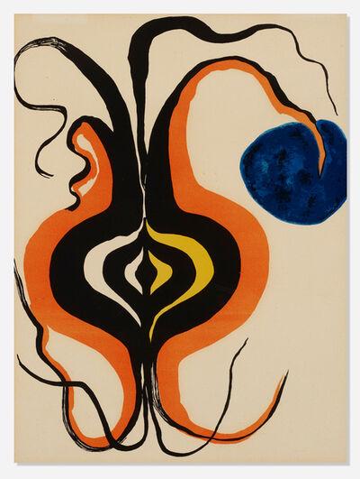 Alexander Calder, 'The Onion (From Derrière le Miroir No.156)', 1966