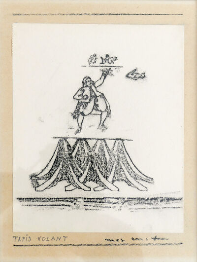 Max Ernst, 'Tapis volant', 1968