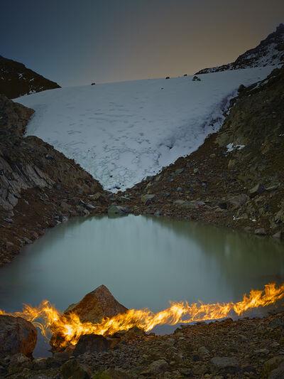 Simon Norfolk, 'The Lewis Glacier, Mt. Kenya, 2004 (A)', 2014