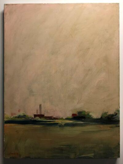 Lee Lippman, 'Two Stacks Across the Field', 2003