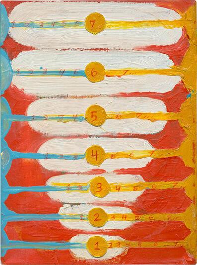 Chris Martin, 'SUNRISE, ASI GHAT, 1234567...', 2004