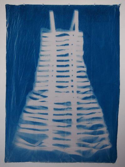 Olivia Mihaltianu, 'Blueprint, Robe de soirée', 2016
