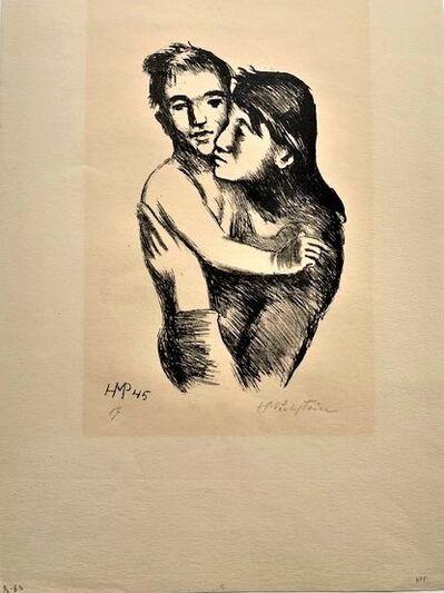 Max Pechstein, 'Mutter und Sohn', 1946
