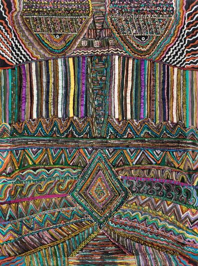 Pacita Abad, 'Masai man', 1982