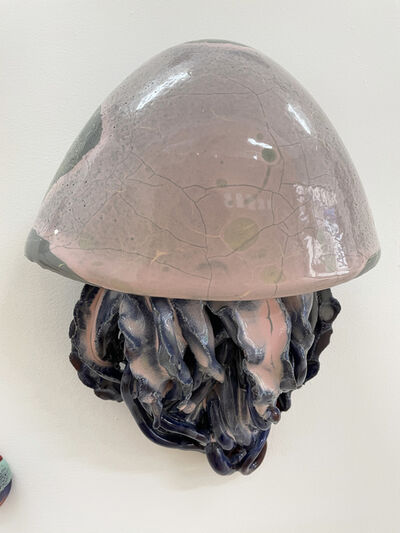 Gereon Krebber, 'Quaps CR II (pink-grey-blue)', 2020