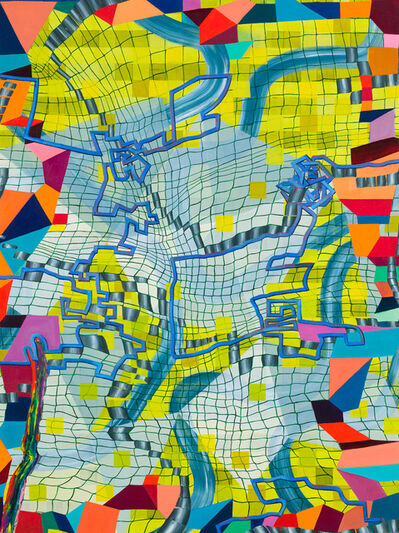 Lisa Corinne Davis, 'Cerebral Calibration', 2017