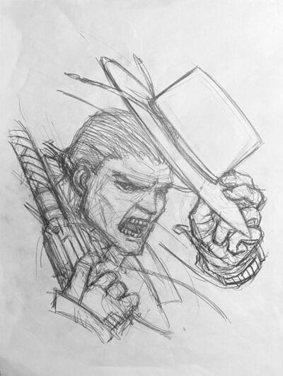 Juan Gimenez, 'El Zorro Sketch', ca. 2010