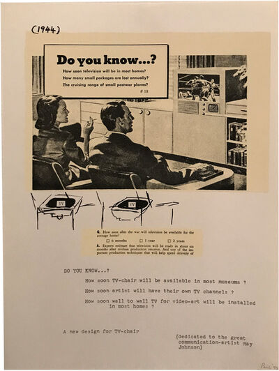Nam June Paik, 'DO YOU KNOW...?', 1993