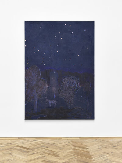 Andrew Cranston, 'Starry night with Donkey ( August 1974)', 2020