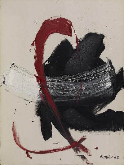 Nicola Carrino, 'Segno 62', 1962