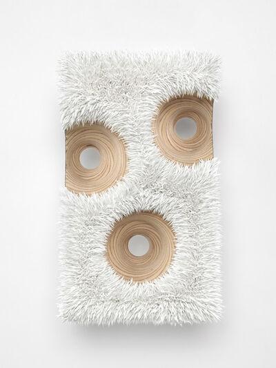 Donald Moffett, 'Lot 092517 (faccia, titanium white)', 2017