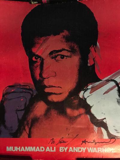 Andy Warhol, 'Muhammad Ali By Andy Warhol', 1978