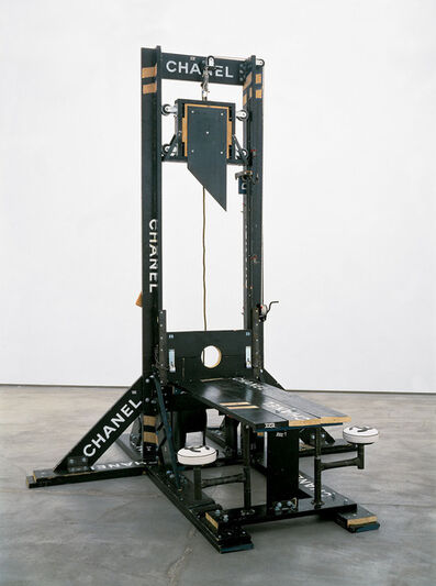 Tom Sachs, 'Chanel Guillotine (breakfast nook)', 1998