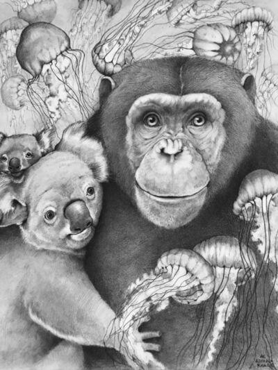 Adonna Khare, 'Chimp with Koala', 2020