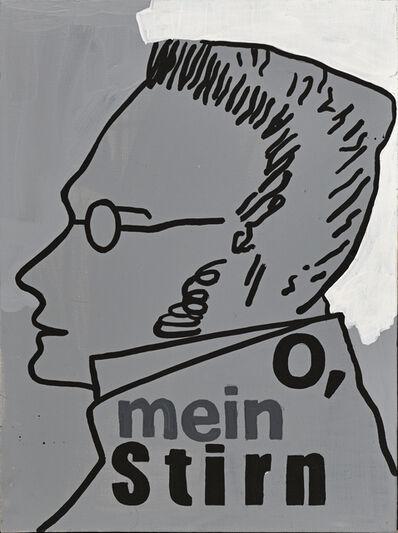 Valery Chtak, 'O,mein stirn ', 2018