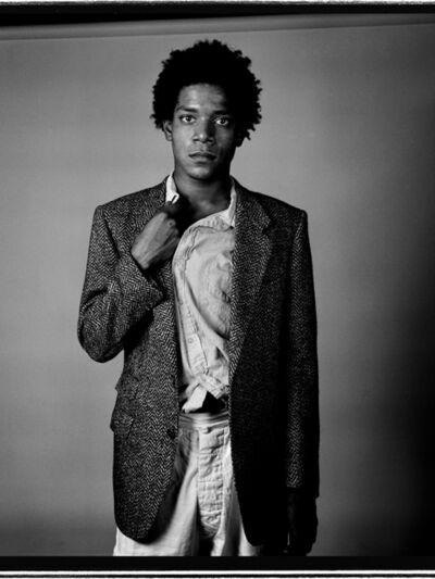 Richard Corman, 'Basquiat Portrait IV', 1984