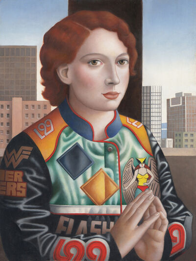 Amy Hill, 'Woman in JH Jacket', ca. 2017