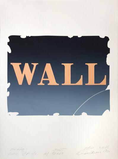 Robert Indiana, 'Wall', 1990