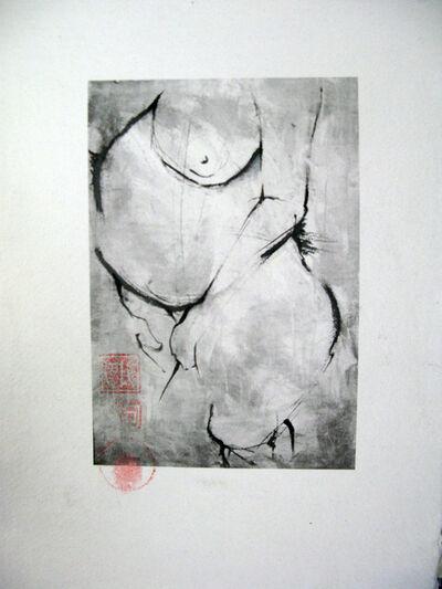 Bobbie Moline-Kramer, 'American Shunga-Icon no. 2', 2017