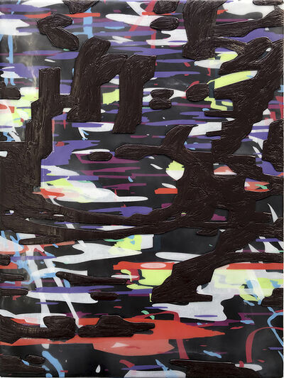 Amy Ellingson, 'Variation/Black (like the lamps of the air when night walks forth)'