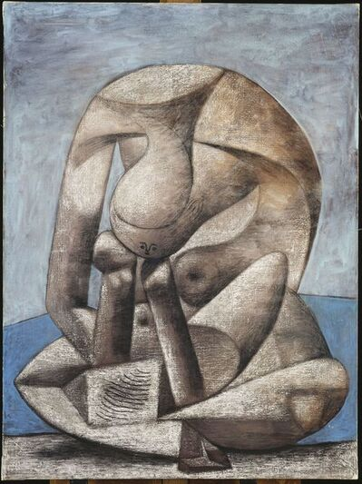 Pablo Picasso, 'Grande Baigneuse au livre (Large bather with a book)', 1937
