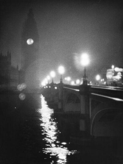 William Klein, 'Big Ben, London', ca. 1960