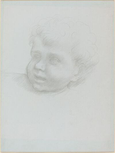 Alphonse Legros, 'Head of a Child'