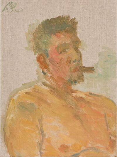 Ni Jun, 'Taking a Break 抽烟的人', 2017