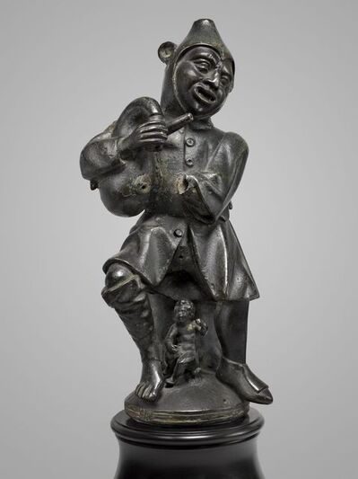 Vischer Family Workshop, attributed to, 'Steam Blower/Aeolipile in the Shape of a Jester', Third quarter of the 15th century-Nuremberg