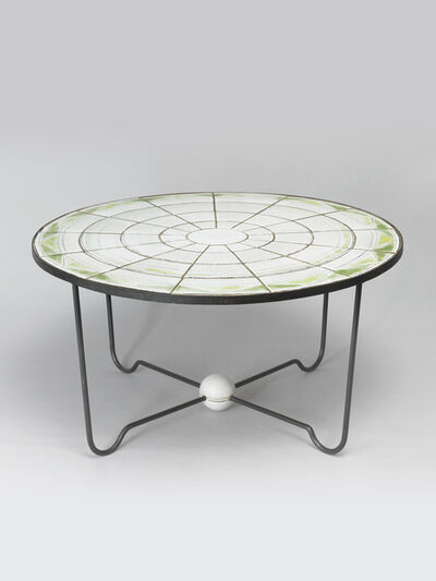 Denise Gatard, 'Circular Coffee Table', 1950
