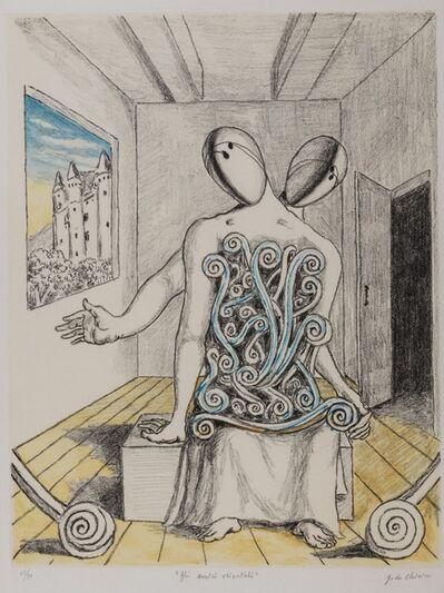 Giorgio de Chirico, 'Gli amici orientali', 1970