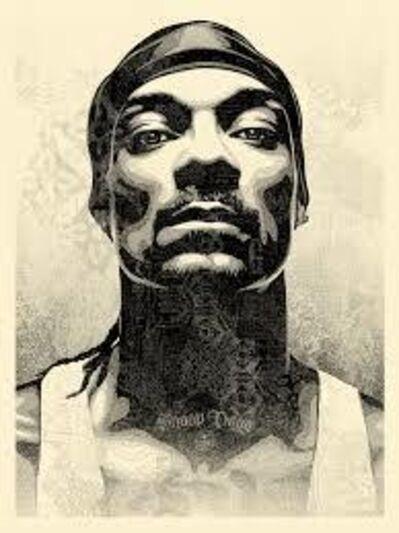 """Shepard Fairey, 'Snoop Dogg """"D-O Double G""""', 2021"""