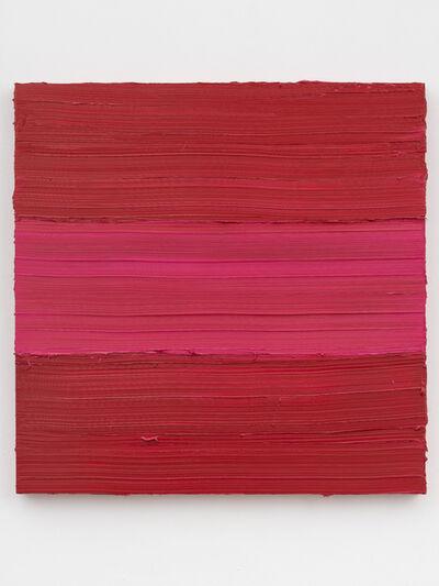 Jason Martin, 'Untitled (Ideal Rose – Ruby Lake)', 2018