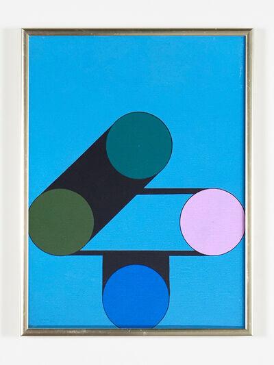 Kenneth Licht, 'Geometric Painting', 1960-1979