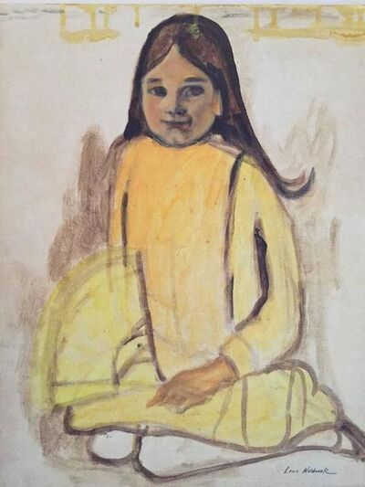 Louis Wolchonok, 'Girl in Yellow Dress', 20th Century