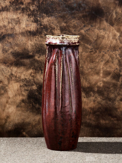 Pierre Adrien Dalpayrat, 'Flambé Vase', 1902