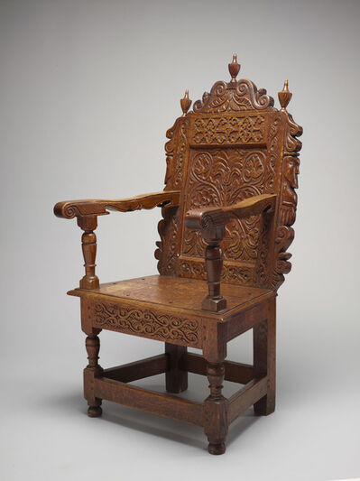 William Searle, 'Joined Great Chair', 1663-1667